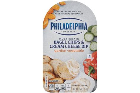 garden vegetable chips philadelphia garden vegetable bagel chips cheese