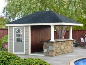 Pool Shed Ideas Homestead Structures Hand Crafted Pool Houses Pavilions
