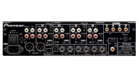 Mixer Audio Pioneer djm 800 fully assignable midi mixer pioneer electronics usa