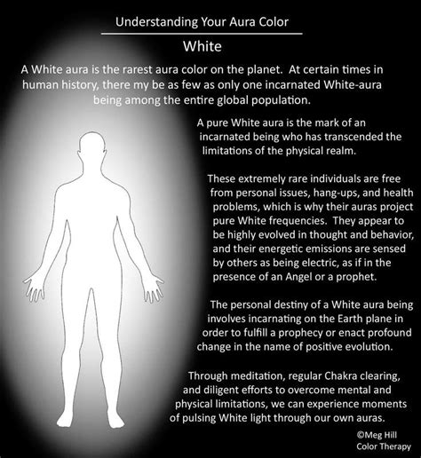 what does the color white represent how to view your aura from a picture and aura color
