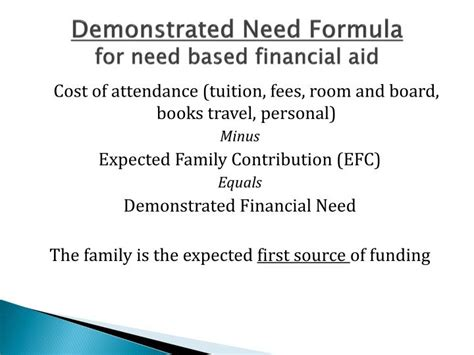 scholarships for room and board ppt college financial aid process halpin le moyne college powerpoint presentation id
