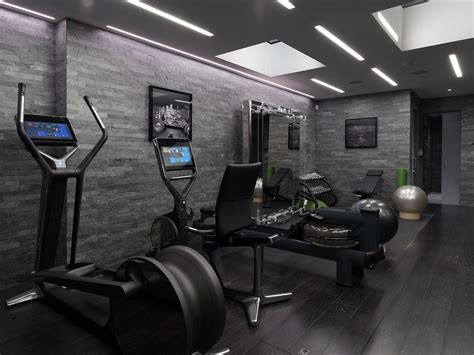 luxury home design encouraging family fitness
