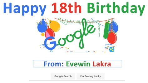 doodle happy birthday 17 evewin photo happy birthday to doodle 27th