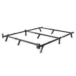 intellibase low profile adjustable box metal bed frame ebay