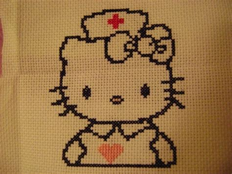 hello kitty cross stitch 1000 images about cross stitch hello kitty on pinterest