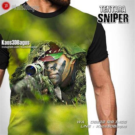 Kaos Sniper 3 28 best kaos tentara kaos militer sniper marinir kaos