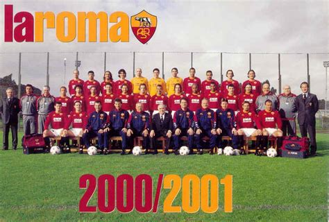 As Roma 01 as roma 2000 2001 scudetto il romanista