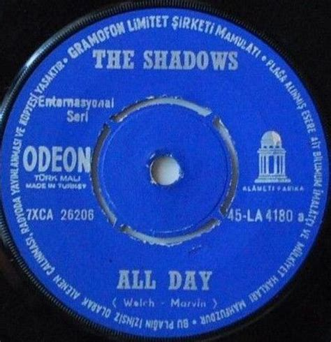 the shadows all day / dance on (vinyl) at discogs