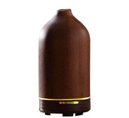 essential diffuser for large room jycstar electric intermittent acacia wood essential diffuser aroma humidifier with led light