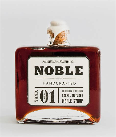 Noble Handcrafted Maple Syrup - noble handcrafted syrup nuvo