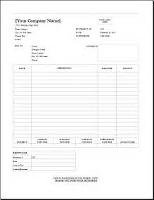 billing statement template 4 customizable invoice templates for excel word excel