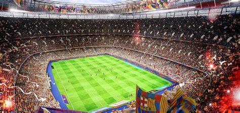 Architecture Design Plans by New Camp Nou Design Populous