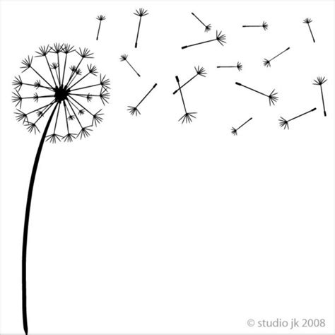dandelion wishes vinyl decal