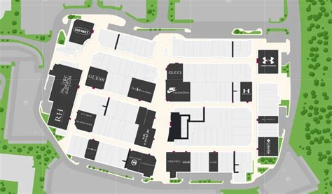 premium outlets map images oakley store outlet mall