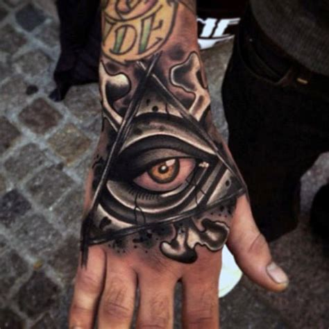 illuminati tattoos for men 100 awesome tattoos for guys manly ink design ideas