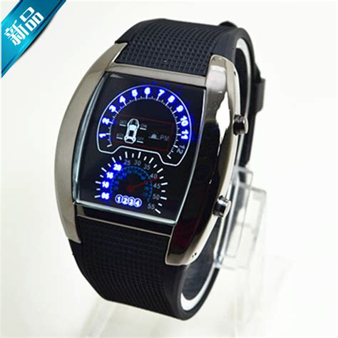 sports watches led digital s race speed car
