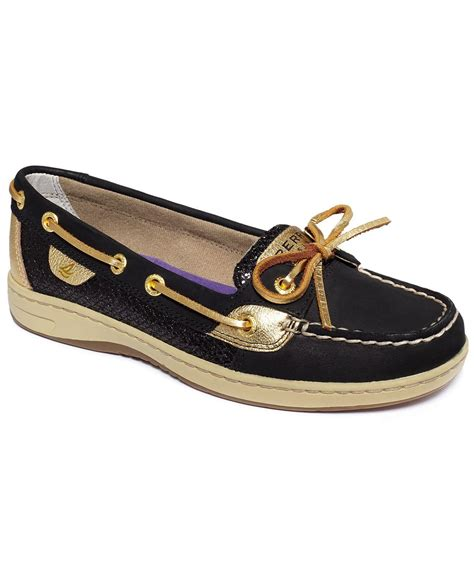 boat shoes macys sperry top sider women s shoes angelfish from macys clothes