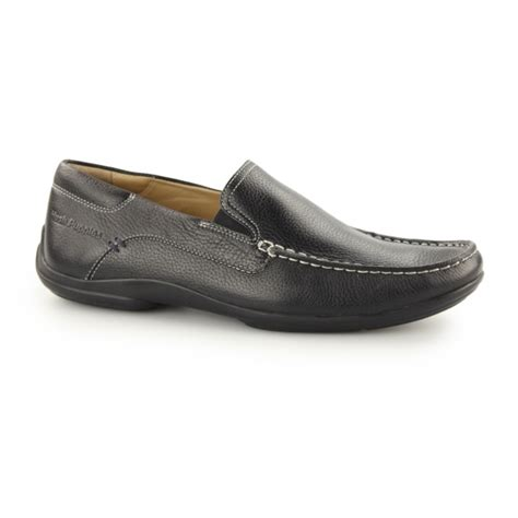 mens hush puppies loafers hush puppies kyler glide mens leather slip on loafers