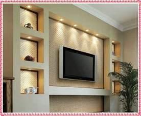 tv on wall ideas tv wall unit ideas gypsum decorating ideas 2016 drywall