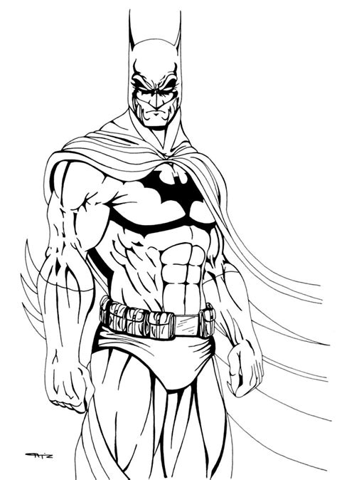 batman coloring pages dc comic book coloring pages