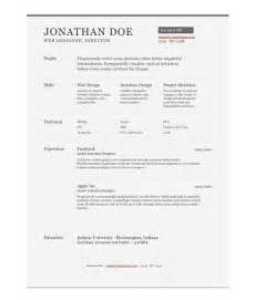 One Resume Template by 11 Psd One Page Resume Templates Designbump