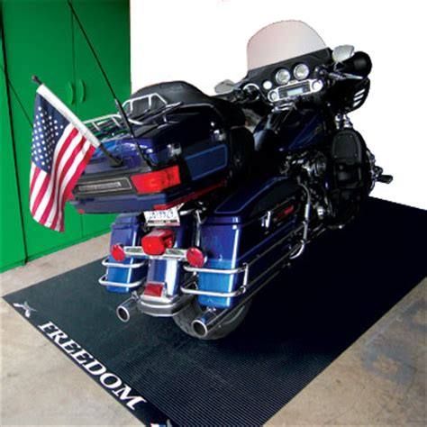 Motorcycle Mats and Motorcycle Pads by American Floor Mats