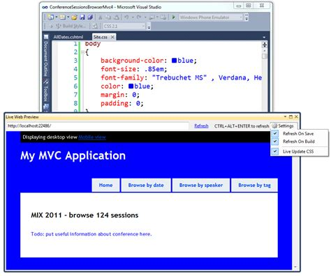 design web form in visual studio 2010 scott hanselman s blog scott hanselman on programming