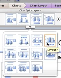 powerpoint quick tutorial quick layouts for charts in powerpoint 2011 mac tutorials