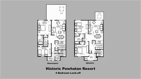 powhatan plantation resort floor plan powhatan plantation floor plan historic 28 images