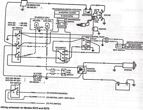 wheel horse tractor ignition switch wiring diagram get