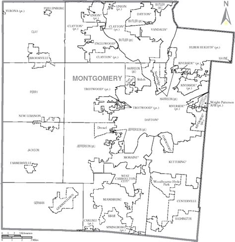 Records Montgomery County Ohio File Map Of Montgomery County Ohio With Municipal And Township Labels Png Wikimedia