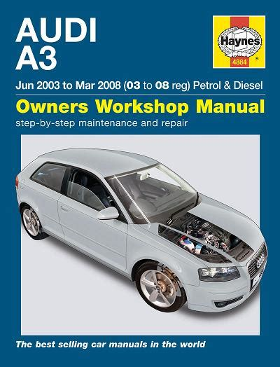 what is the best auto repair manual 2008 lexus rx transmission control 2003 2008 audi a3 hatchback 3 door sportback 5 door gas diesel haynes repair manual