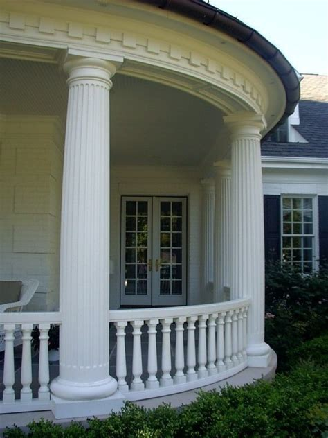 cast column porch columns front porch designs