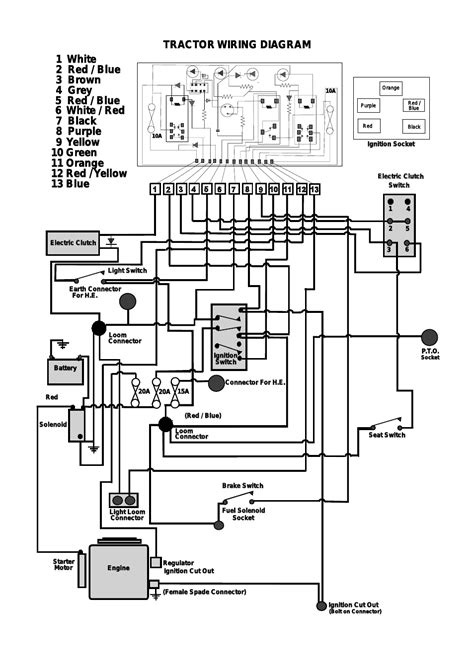 white tractor wiring diagram xl185s wiring schematic