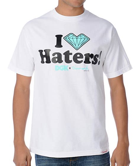 haters white shirt dgk x i haters white t shirt