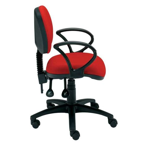 non swivel office chair student medium back gas lift swivel chair with non