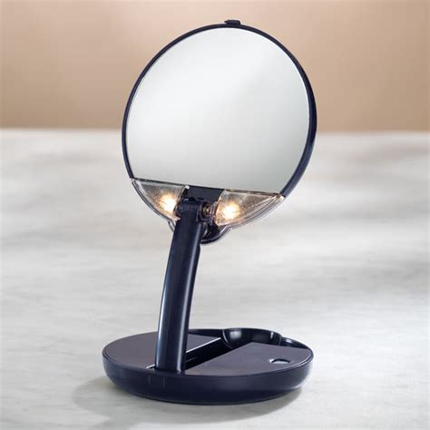 15x lighted makeup mirror lighted travel makeup mirror 15x magnifying mirror