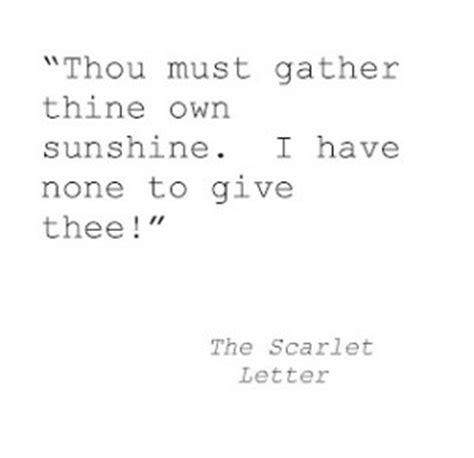 Scarlet Letter Color Symbolism Quotes