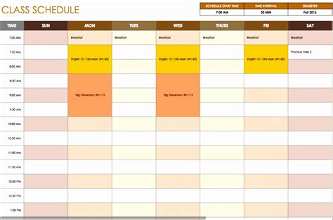 10 Daily Timetable Template Excel Exceltemplates Exceltemplates Schedule Adherence Excel Template