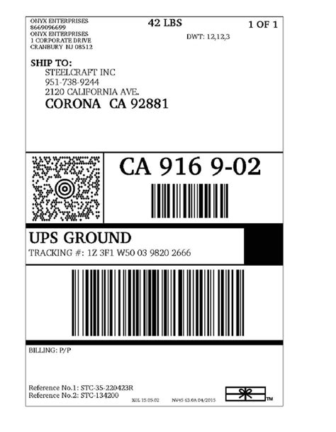 print ups return label pictures to pin on pinterest