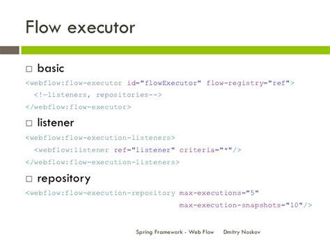 repository pattern search criteria spring framework web flow