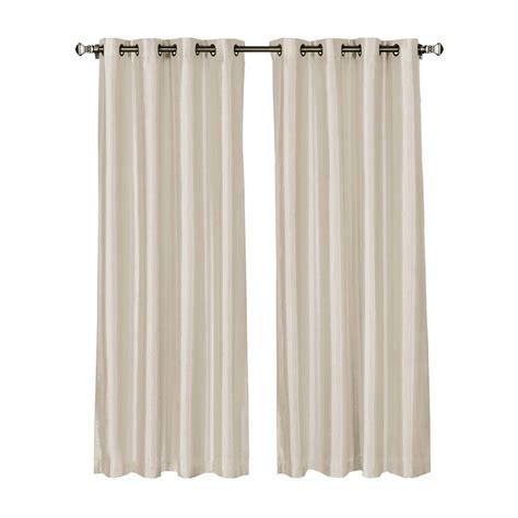 54 x 95 curtains window elements jane faux silk 54 in w x 95 in l grommet