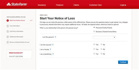 state farm life insurance login   payment