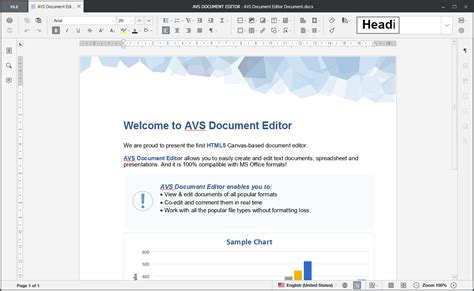 Document Editing Software