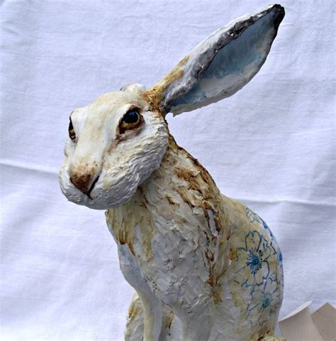 Make Animal Sculptures With Paper Mache Clay - 17 best ideas about paper clay on clay