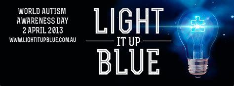everyday australia light it up blue 2013