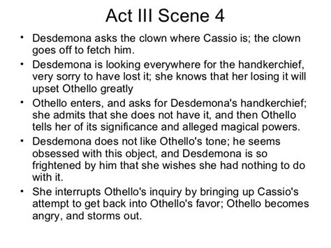 themes in othello act 4 summary of othello by shakespeare pdf wowkeyword com