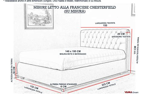 letto chesterfield rosso con contenitore alla francese 140 cm