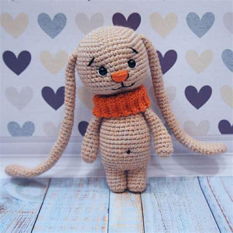 Amigurumi Ears Pattern | amigurumi bunny with long ears amigurumi today