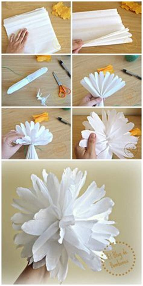 How To Make Crepe Paper Flowers Step By Step - origami flor buscar con origami